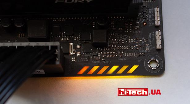 Подсветка ASUS TUF Gaming Z590-Plus WiFi