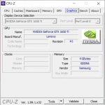 CPU Z VGA