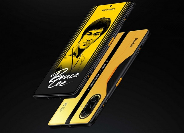 Redmi K40 Bruce Lee Special Edition
