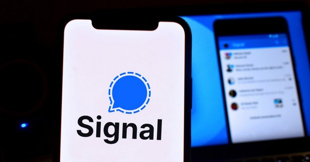 Signal logo messenger