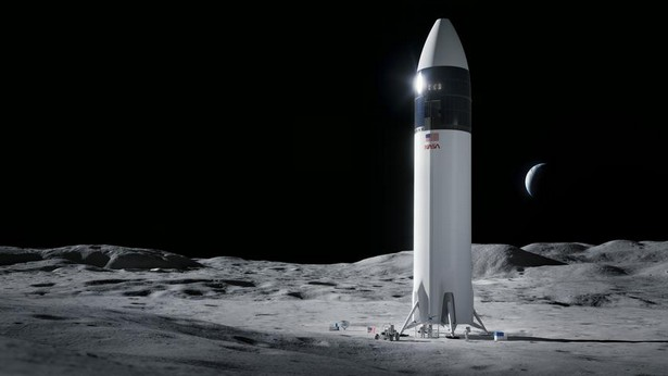 SpaceX NASA moon delivery