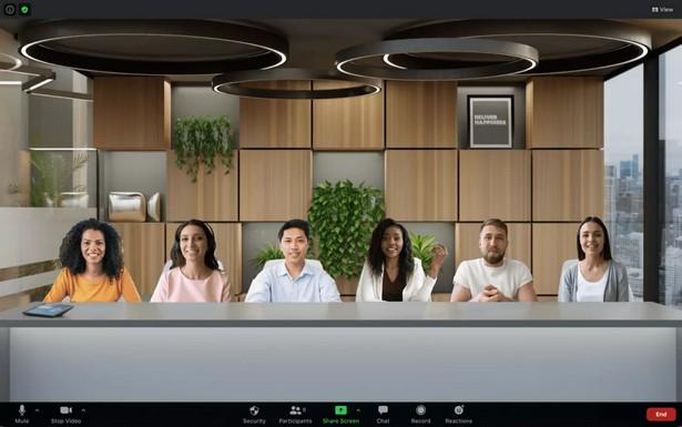Zoom 25 people in virtual room