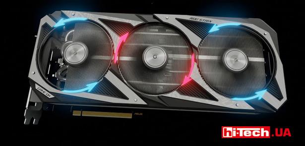 Вентиляторы ASUS ROG Strix Radeon RX 6700 XT OC