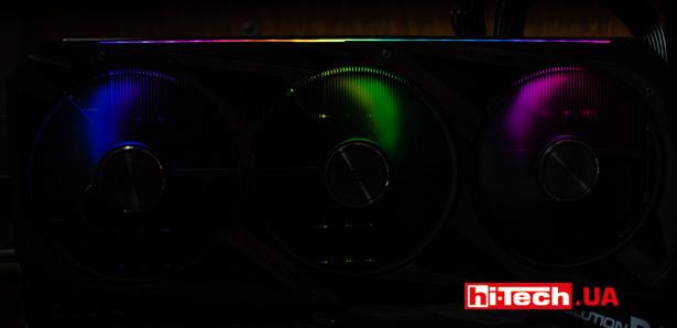 Подсветка ASUS ROG Strix Radeon RX 6700 XT OC