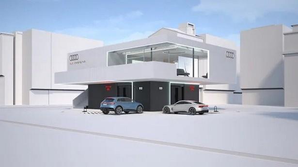 Audi charger auto hub