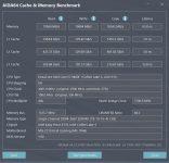 aida64 cache memory benchmark xmp 2666