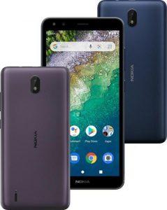 Nokia C01 Plus c Android 11 Go работает от аккумулятора 3000 мАч и стоит $90