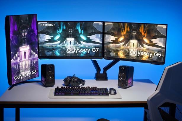 Samsung Odyssey G7, Odyssey G5 и Odyssey G3