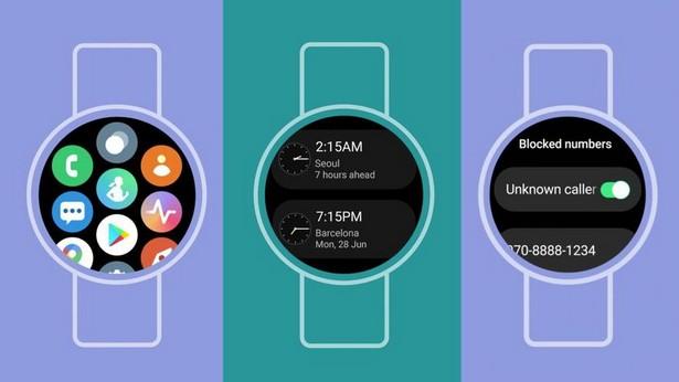 Samsung One UI Watch Google Wear OS