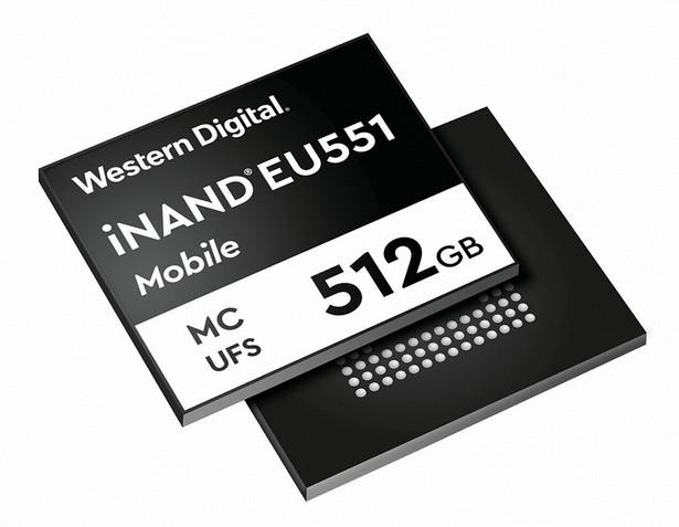 WD iNAND MC EU551