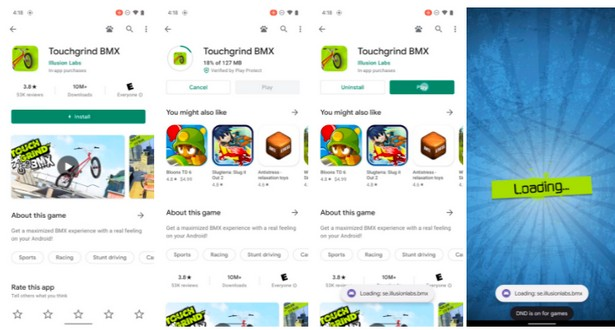 game android 12 download go