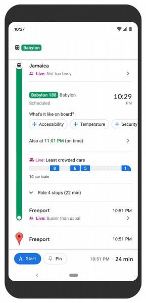 google maps sivic transport