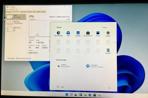 Raspberry Pi 4 Windows 11