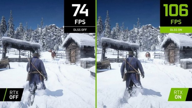 Red Dead Redemption 2 добавили NVIDIA DLSS