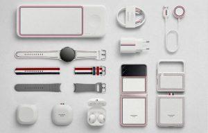 Samsung выпустит только смартфоны Galaxy Z Flip 3 и Z Fold 3 в дизайне Thom Browne Edition, но аксессуары будут в комплекте