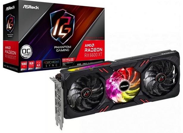 AsRock AMD Radeon RX 6600 XT