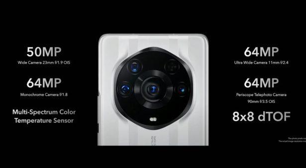Honor Magic3 Pro Plus cameras