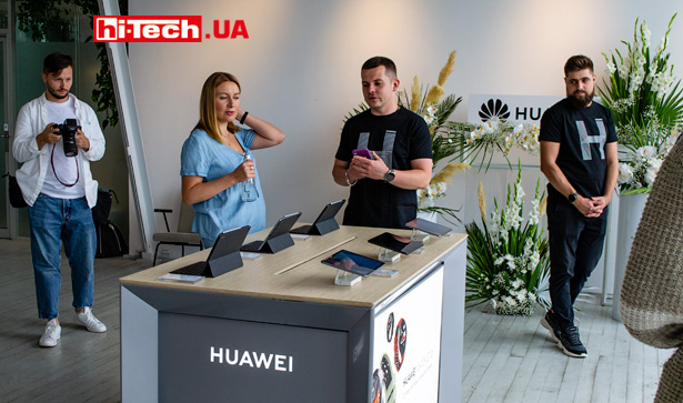Презентация Huawei в Украине