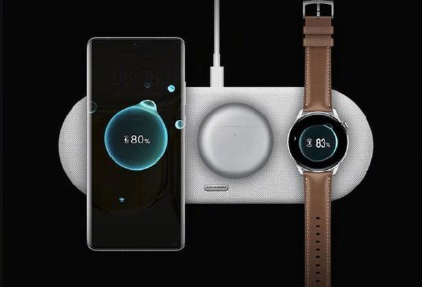 Huawei wireless triple charger