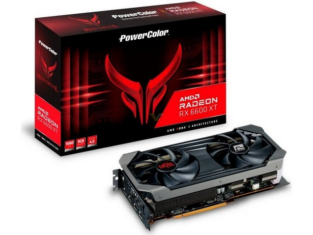 PowerColor AMD Radeon RX 6600 XT