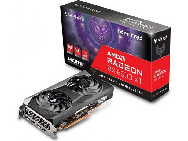 Sapphire AMD Radeon RX 6600 XT