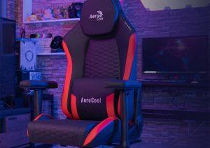 AeroCool Nobility Crown  флагманская линейка геймерских кресел с премиум-материалами