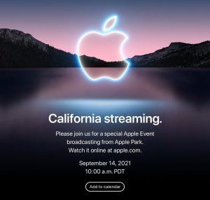 Где и как можно посмотреть презентацию Apple с iPhone 13
