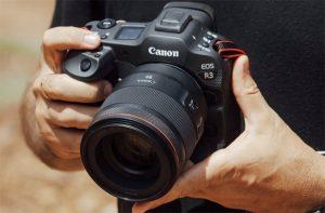 Canon EOS R3  спортивно-репортажная беззеркальная камера стоимостью $6000