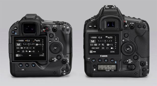 Canon EOS R3, EOS-1D X Mark III
