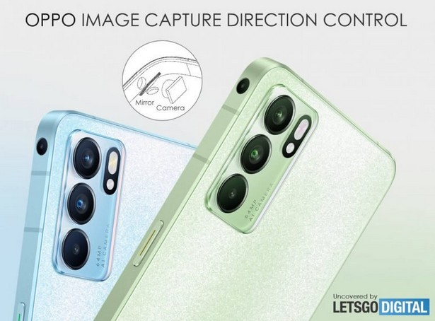oppo patent side camera