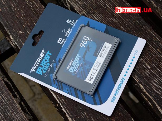 """Patriot Burst Elite 960GB 2.5"""" SATA III SSD"""
