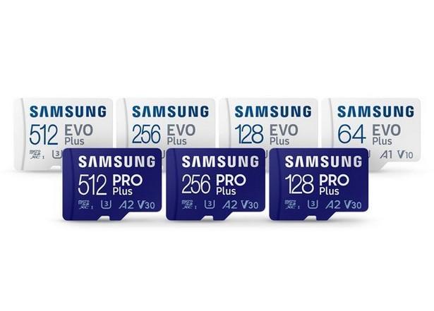 Samsung microSD PRO Plus и EVO Plus