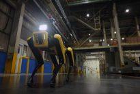 Spot Factory Safety Service Robot
