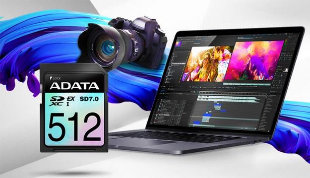 ADATA Premier Extreme SDXC SD 7.0 Express Card