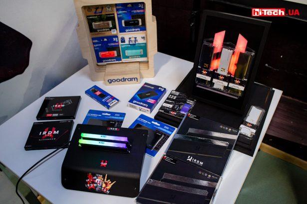 SSD-диски, модули оперативной памяти, флешки и карты памяти от GOODRAM