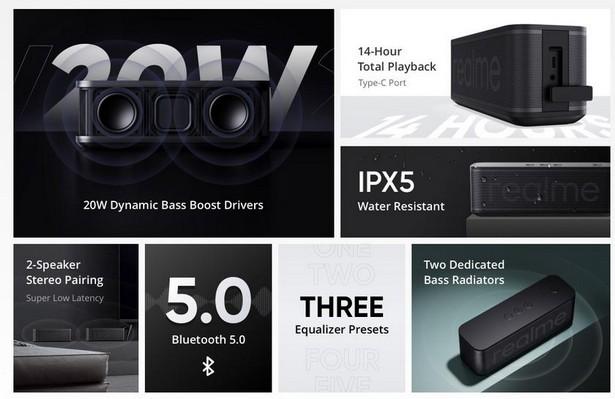Realme Brick Bluetooth Speaker