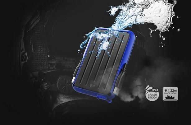 Защищенный портативный жёсткий диск Silicon Power Armor A66 выпускается в версиях от 1 до 4-х ТБ - hi-Tech.ua