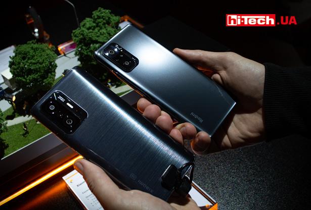 Xiaomi 11T и Xiaomi Redmi Note 10 Pro