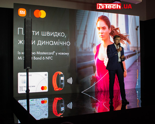 Презентация Xiaomi Mi Smart Band 6 NFC